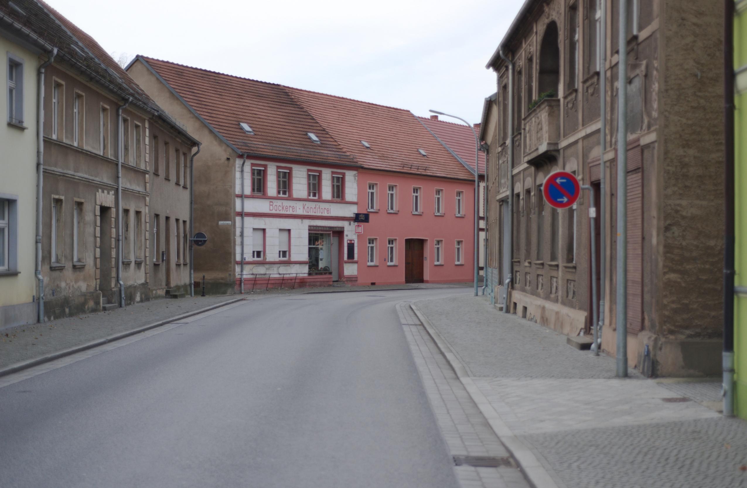 Straße in Elsterwerda